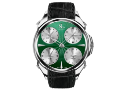 Jacob & Co Palatial Five Time Zone Green Dial Mens Watch PZ500.10.NS.CH.A