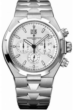 Vacheron Constantin Overseas Chronograph Stainless Steel Men's Watch preowned.49150/B01A-9095