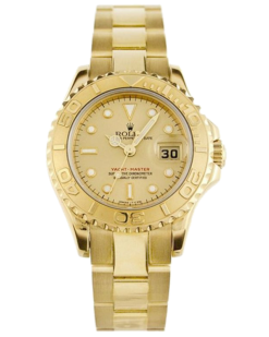 Rolex Yacht-Master 18K Yellow Gold Unisex Watch preowned.16628