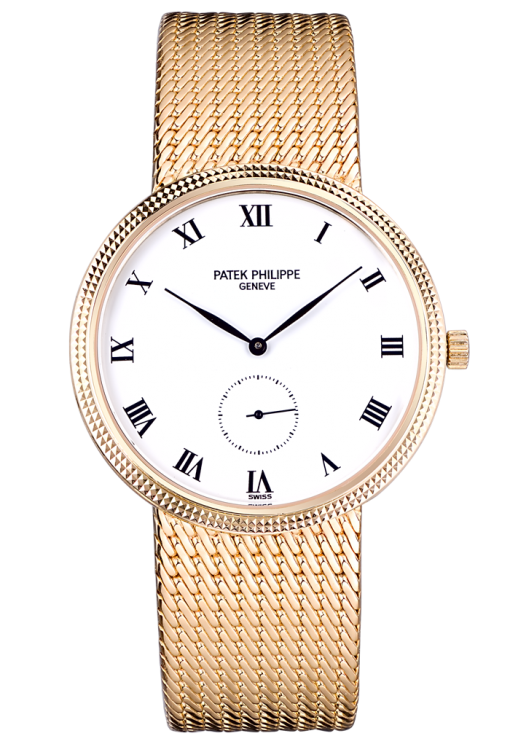 Patek Philippe Calatrava 18K Yellow Gold Ladies Watch, preowned.3919/5