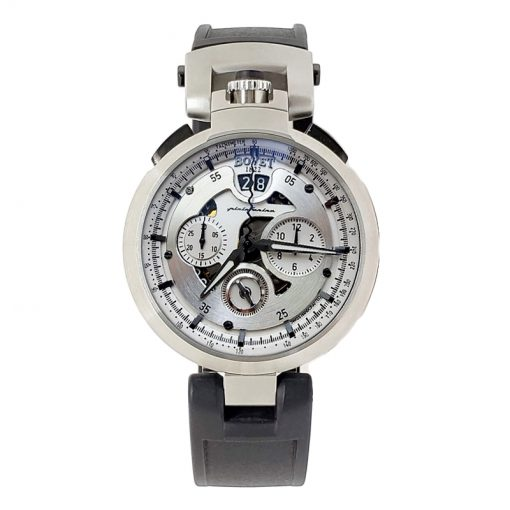 Bovet Pininfarina Amadeo Chronograph Stainless Steel Men's Watch, preowned_CHPIN005