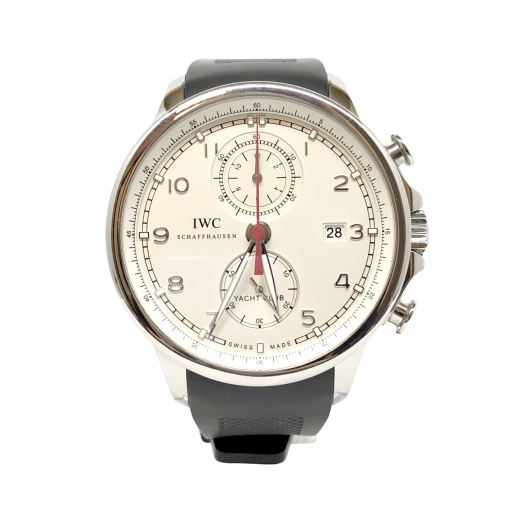 IWC Portuguese Chronograph Classic Stainless Steel Men's Watch, preowned.IW390211