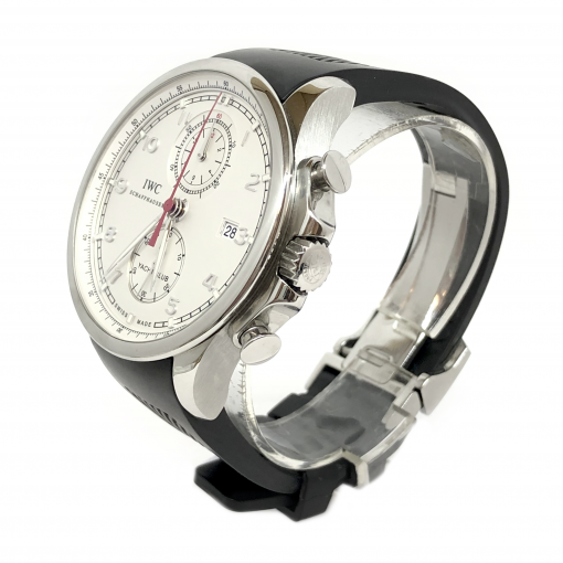 IWC Portuguese Chronograph Classic Stainless Steel Men's Watch, preowned.IW390211 2