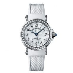 Brequet Marine 8818 18K White Gold & Diamonds Ladies Watch Preowned-8818BB/59/564/DD00