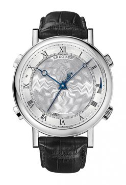 Brequet La Musicale 7800 18K White Gold Men's Watch Preowned-7800BB/11/9YV