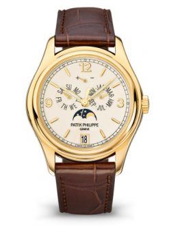Patek Philippe Complicated Perpetual Calendar 18k Yellow Gold Men's Watch Preowned-5146J-001