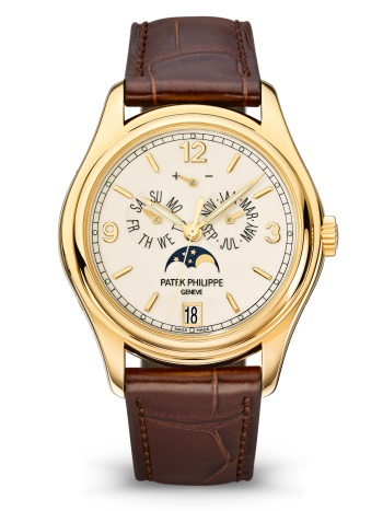 Patek Philippe Complicated Perpetual Calendar 18k Yellow Gold Men's Watch, Preowned-5146J-001