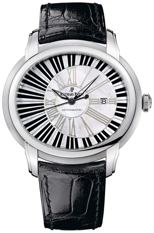 Audemars Piguet Millenary Automatic Piano Forte 18k White Gold Men's Watch, preowned.15325BC.OO.D102CR.01