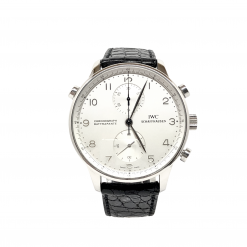 IWC Portuguese Chronograph Classic Platinum Limited Edition Men's Watch Preowned.IW371205