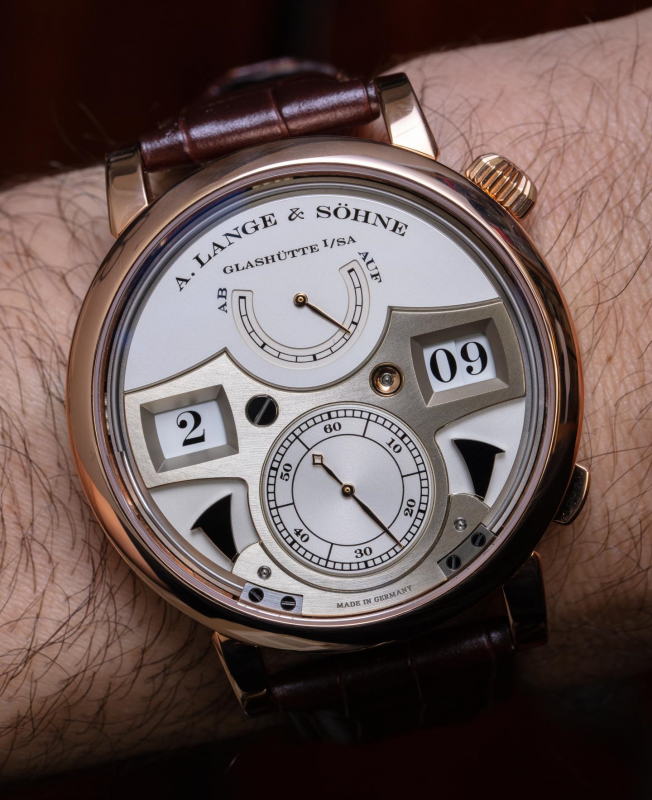 Zeitwerk Striking Time by A Lange & Sohne