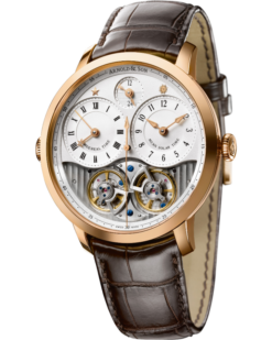 Arnold & Son Instrument Collection DBG 18K Rose Gold Men's Watch Preowned-1DGAP.W01A.C120P