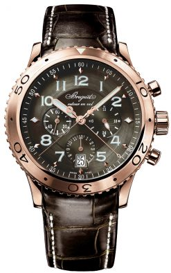 Brequet Type XXI Flyback 18K Rose Gold Men's Watch preowned-3810BR/92/9ZU