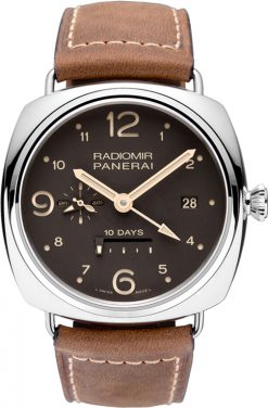 Panerai Radiomir 10 Days GMT Boutique Edition Stainless Steel Men's Watch Preowned.PAM 00391