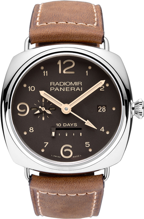 Panerai Radiomir 10 Days GMT Boutique Edition Stainless Steel Men's Watch, Preowned.PAM00391