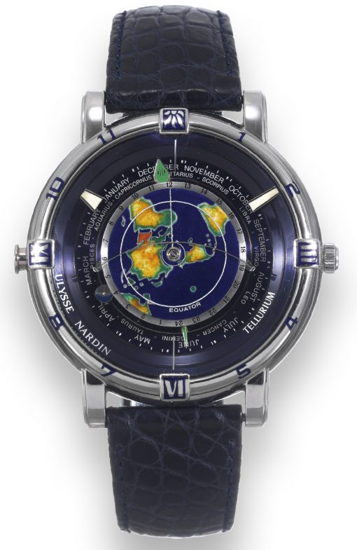 Ulysse Nardin Trilogy Set Tellurium J. Kepler Platinum Limited Edition Men's Watch, preowned.889-99
