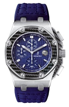 Audemars Piguet Royal Oak Offshore MONTOYA Platinum & Carbon Limited Edition Men's Watch preowned.26030PO.OO.D021IN.01