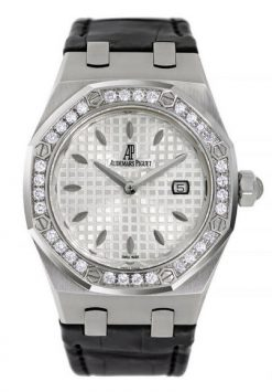 Audemars Piguet Royal Oak Stainless Steel & Diamonds Unisex Watch Preowned-77321ST.ZZ.D012CR.01