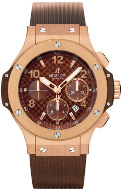Hublot Big Bang Cappuccino 18K Rose Gold Men's Watch preowned.301.PC.1007.RX