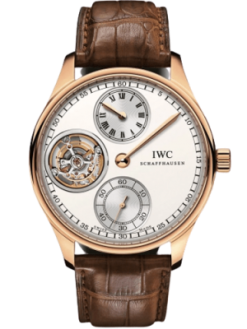 IWC Portugieser Regulateur Tourbillon Rose Gold Limited Edition Preowned-IW5446-02