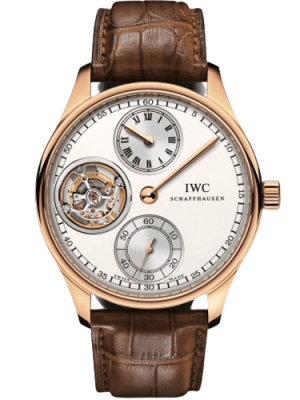 IWC Portugieser Regulateur Tourbillon Rose Gold Limited Edition, Preowned-IW5446-02
