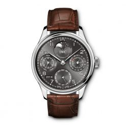 IWC Portuguese Perpetual Calendar Perpetual Moonphase Mens Watch Preowned-IW502307