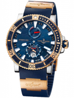 Ulysse Nardin Maxi Marine Diver Titanium Limited Edition 45mm Mens Watch Preowned-265-91LE-3