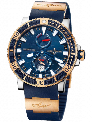 Ulysse Nardin Maxi Marine Diver Titanium Limited Edition 45mm Mens Watch, Preowned-265-91LE-3