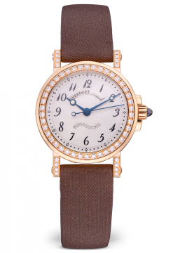 Brequet Marine 8818 18K Yellow Gold & Diamonds Ladies Watch Preowned-8818BA/59/864/DD0D