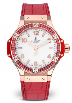 Hublot Big Bang Tutti Frutti 18K Rose Gold Quartz 38mm Watch Preowned-361.PR.2010.LR.1913