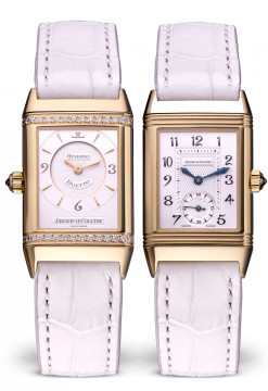 Jaeger Le-Coultre Reverso Duetto Classique Yellow Gold Ladies Watch Preowned-256.1.75