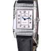 Jaeger Le-Coultre Squadra Ladies Duetto Diamonds Leather Ladies Watch, Preowned-265.3.08 1