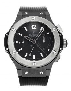 Hublot Big Bang Split-Second Ice Bang Ceramic Limited Edition Men's Watch preowned-309.CK.1140.RX
