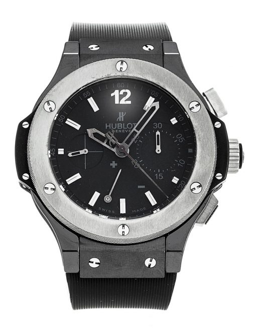 Hublot Big Bang Split-Second Ice Bang Ceramic Limited Edition Men's Watch, preowned-309.CK.1140.RX