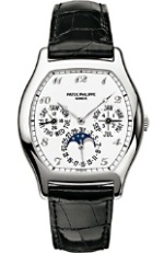 Patek Philippe Complicated Perpetual Calendar 18K White Gold Men's Watch Preowned.3945/2J-1