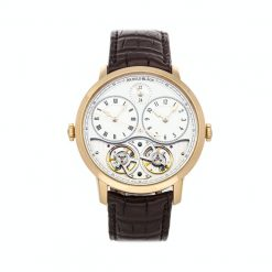 Arnold & Son Instrument Collection DBS 18K Rose Gold Men's Watch Preowned-1DGAP.W01A.C120P