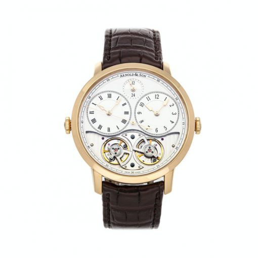 Arnold & Son Instrument Collection DBS 18K Rose Gold Men's Watch, Preowned-1DGAP.W01A.C120P