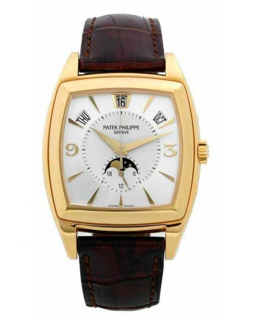 Patek Philippe Annual Calendar 18K Yellow Gold Men's Watch, Preowned-5135