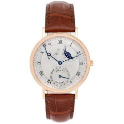 Breguet Classique Power Reserve Moon Phase 18K Rose Gold Men's Watch Preowned-3137BR/11/986