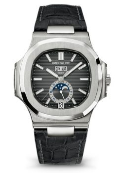Patek Philippe Nautilus Annual Calendar Stainless Steel Men's Watch Preowned.5726A-001