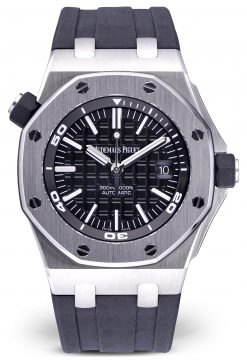 Audemars Piguet Royal Oak Offshore Diver Stainless Steel Men's Watch Preowned-15710ST.OO.A002CA.01