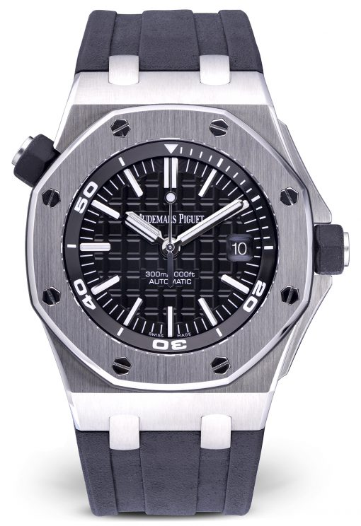 Audemars Piguet Royal Oak Offshore Diver Stainless Steel Men's Watch, Preowned-15710ST.OO.A002CA.01