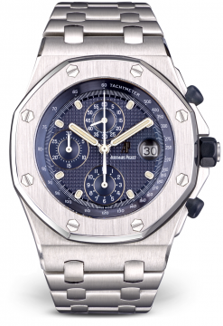 Audemars Piguet Royal Oak Offshore Chronograph Stainless Steel Watch Preowned.25721ST.OO.1000ST.01