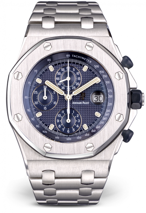 Audemars Piguet Royal Oak Offshore Chronograph Stainless Steel Watch, Preowned.25721ST.OO.1000ST.01