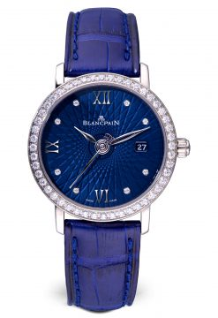Blancpain Ultraplate Date White Gold Ladies Watch preowned-6102C-1929-55A