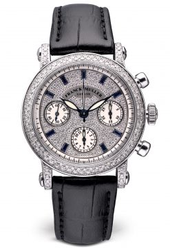 Franck Muller Chronograph Master of Complication 18K White Gold Watch Preowned-7000 CC D CD