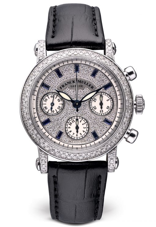 Franck Muller Chronograph Master of Complication 18K White Gold Watch, Preowned-7000 CC D CD