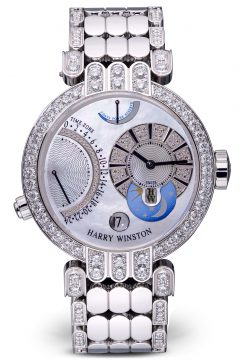 Harry Winston Premier Excenter 18K White Gold Preowned-200/MMTZ39W