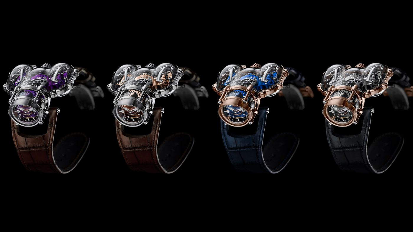 MB&F Announces Limited Edition HM9-SV Watch Series