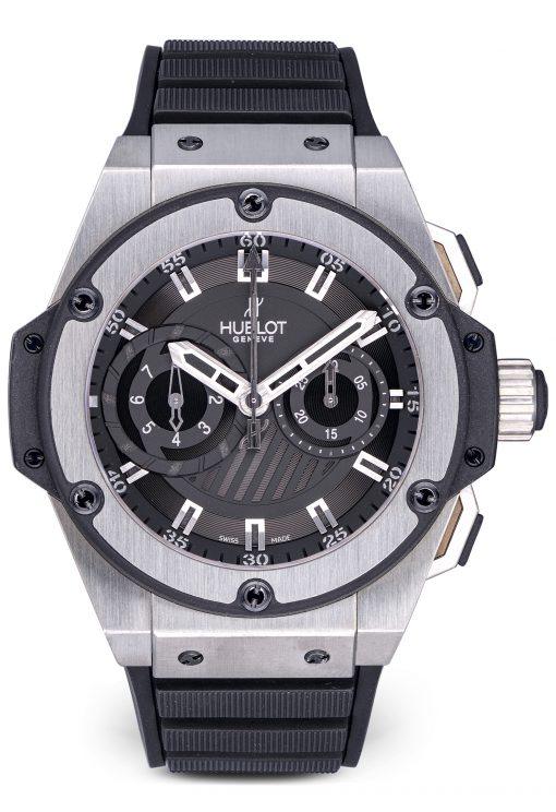 Hublot Big Bang King Power Foudroyante Zirconium Limited Edition Men's Watch, Preowned-715.ZX.1127.RX