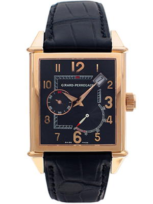 Girard-Perregaux Vintage 1945 Rose Gold Power Reserve Men's Watch, Preowned-25850.0.52.6456